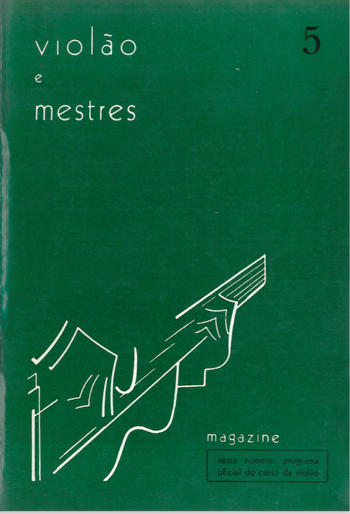 Revista Violão e Mestres - n 5 - jun. 1966