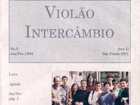 Revista Violão Intercâmbio - n 3 ano II - jan/fev 1994