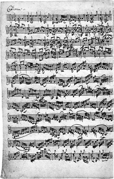 Digitação para violão da CIACCONA BWV 1004 de Bach - Alisson Alípio