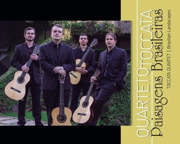 Quarteto Toccata - Paisagens Brasileiras