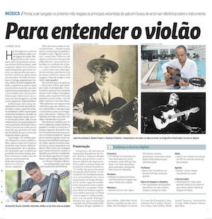 Correio Braziliense - Para Entender o Violão
