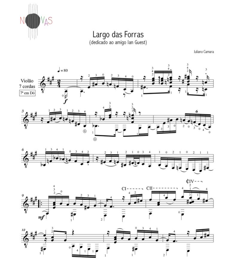Largo das Forras (Juliano Camara) - Violão Solo