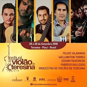 Lista de semifinalistas do Concurso de Violão de Teresina é divulgada