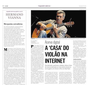 O Globo - Acervo Digital: A 'Casa' do Violão na Internet