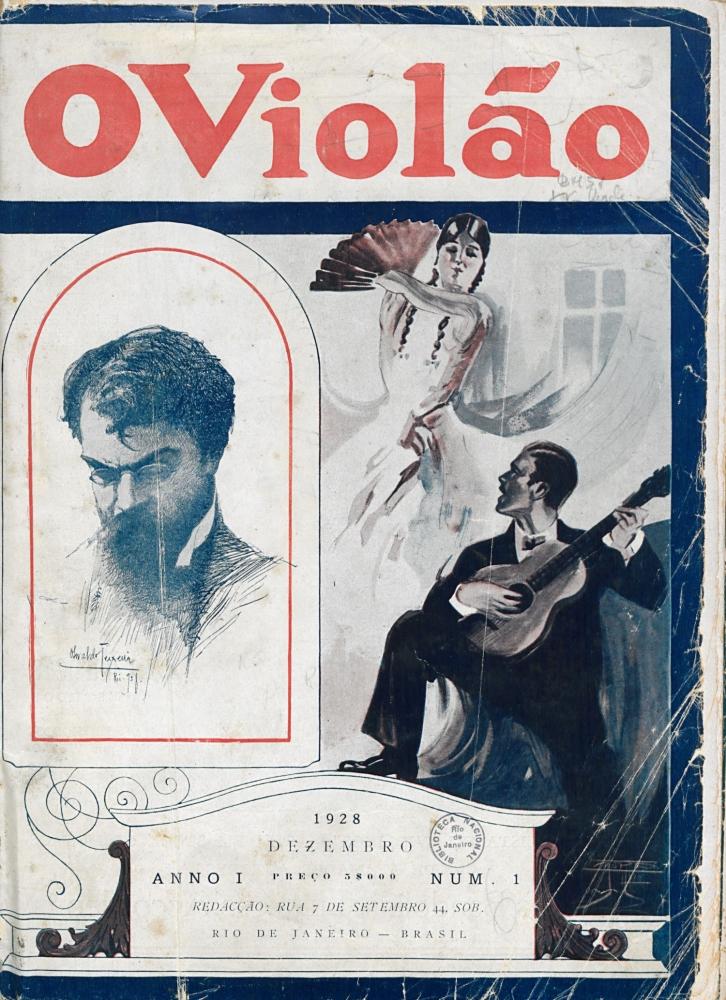 Revista O Violão - Ano 1 - Número 1 - Dezembro 1928