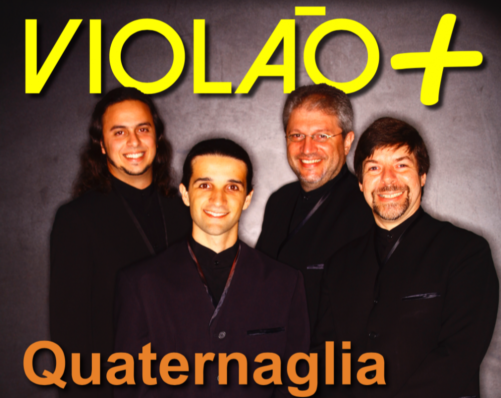 Revista Violão +  Quaternaglia - edição 01 - setembro 2015