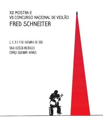Acervo relembra aniversário de Fred Schneiter e destaca concurso em sua homenagem