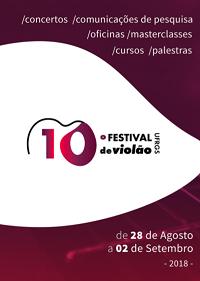 X Festival de Violão de Porto Alegre começa nesta terça (28/08)