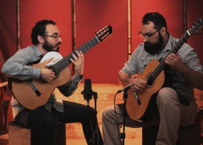 Capa do vídeo Duo Mangabeira - Meu pai (Guinga)