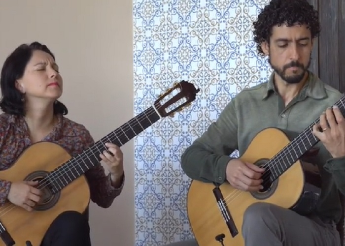Capa do vídeo Duo Siqueira Lima - Prelúdio Bachiana Brasileira n. 4 (Villa-Lobos)