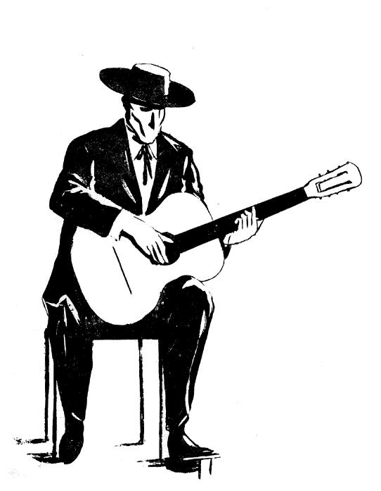 Violão e Mestres: história e sonho de uma revista - desenho