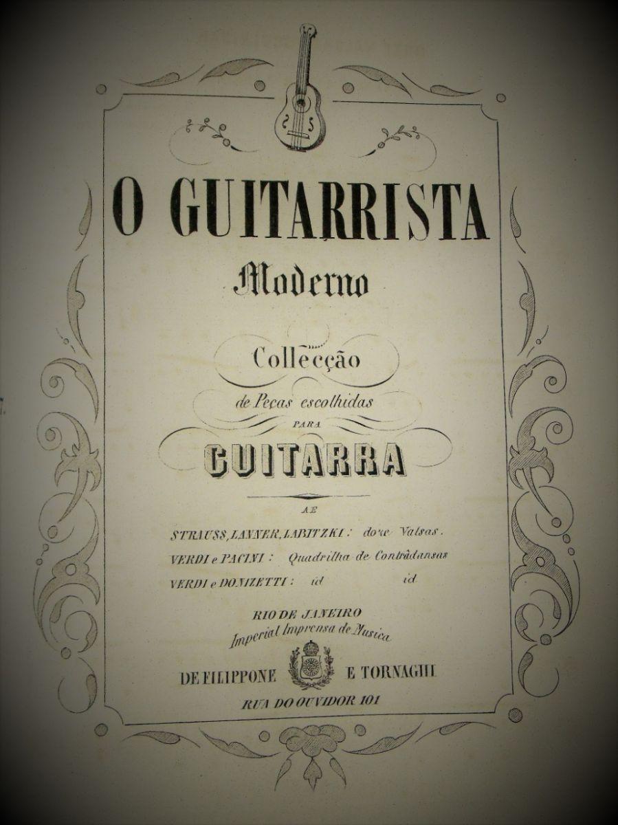 Pesquisador descobre em Portugal a primeira revista sobre violão do Brasil e conta sua história em palestra no Sesc SP - O Guitarrista Moderno