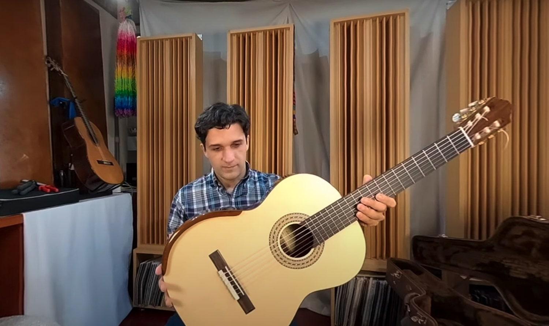 Na Série Diário de um Violão, Thiago Abdalla analisa novo modelo do luthier Cleyton Fernandes - imagem Thiago Abdalla