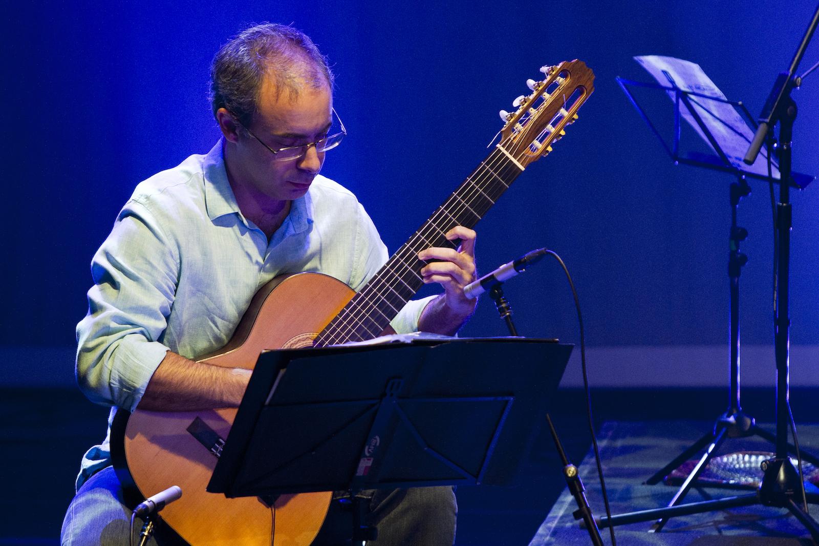 Carlos Chaves descreve como criou música selecionada do Concurso Novas 3 - Carlos Chaves. Crédito: Renan Perobelli