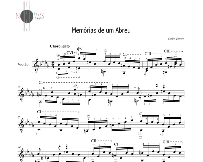 Carlos Chaves descreve como criou música selecionada do Concurso Novas 3