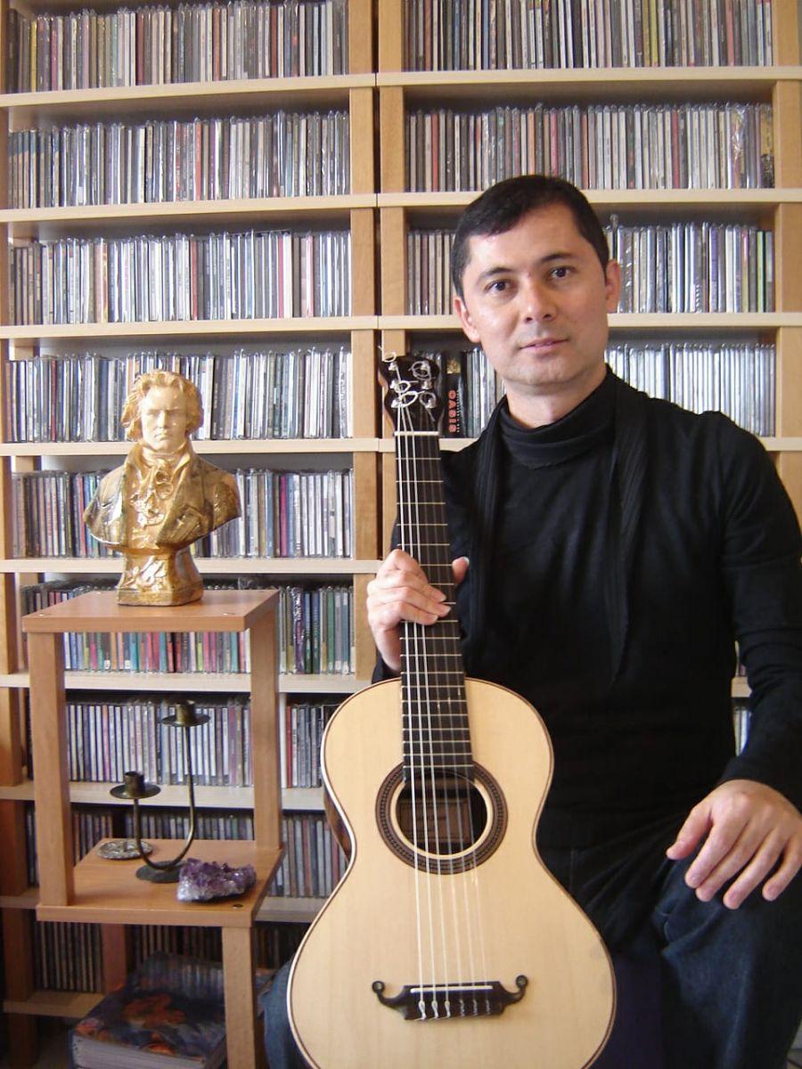 O violão clássico e romântico são temas de workshop online neste fim de semana - foto gilson antunes