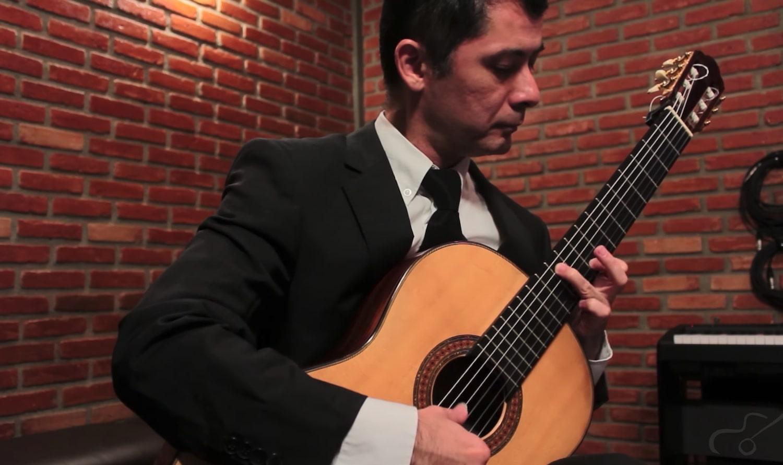 O violão clássico e romântico são temas de workshop online neste fim de semana - imagem Gilson Antunes