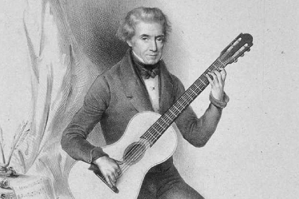 O violão clássico e romântico são temas de workshop online neste fim de semana - Dionisio Aguado
