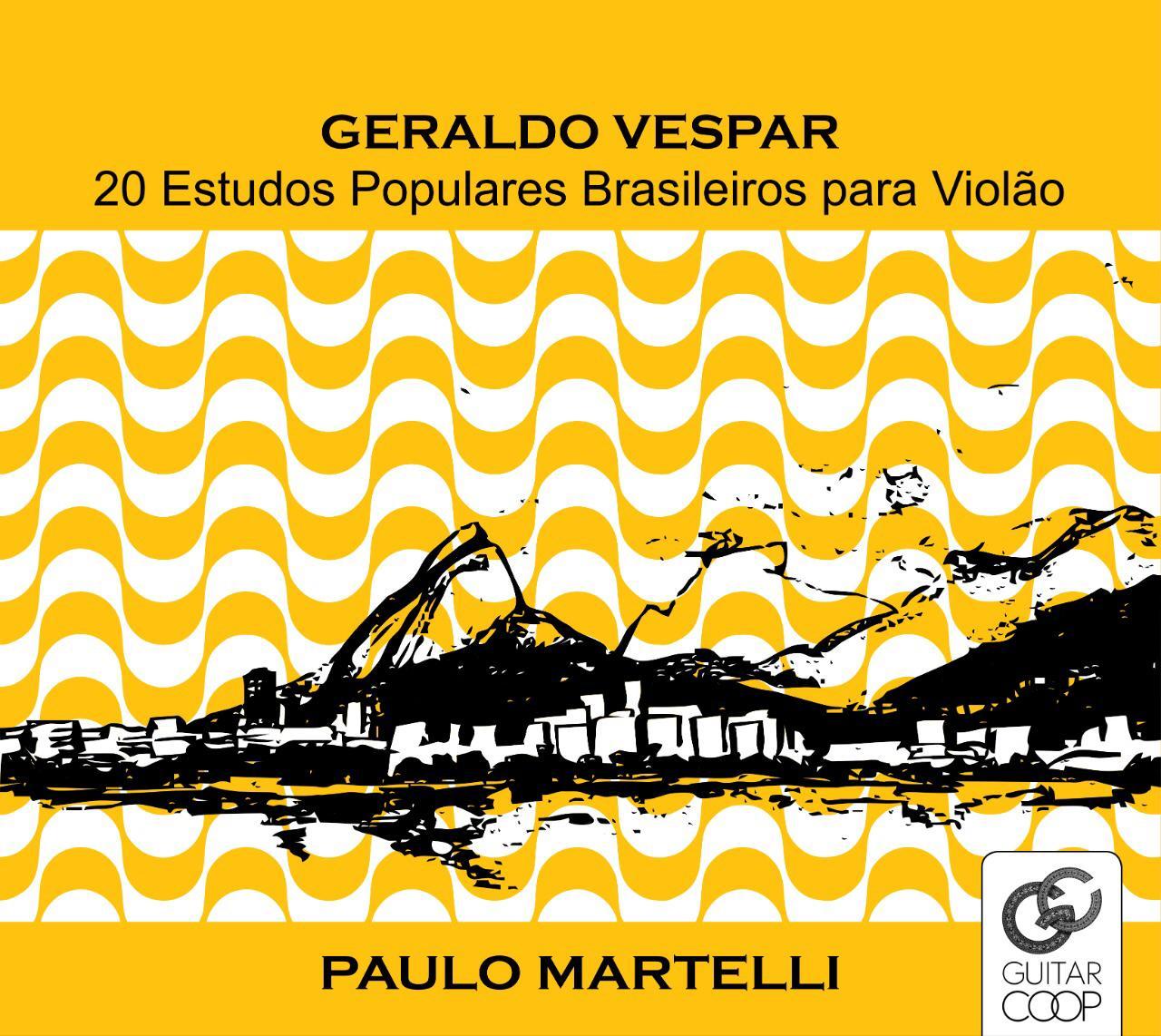 Geraldo Vespar tem obra inédita lançada em disco de Paulo Martelli