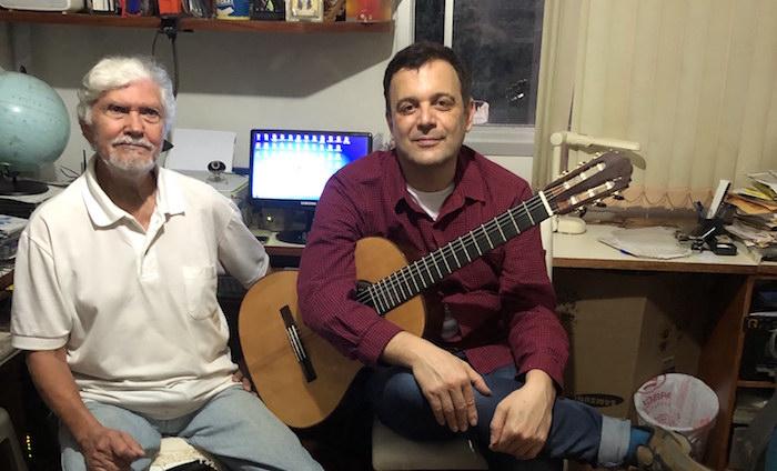 Geraldo Vespar tem obra inédita lançada em disco de Paulo Martelli - Geraldo Vespar e Paulo Martelli