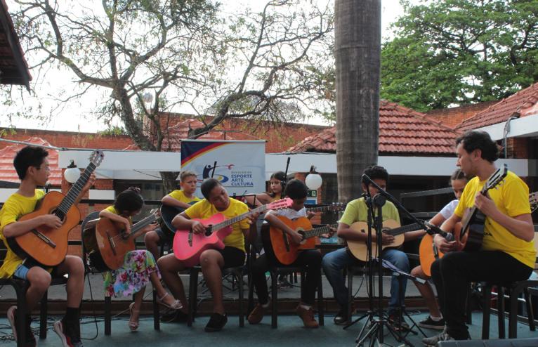 Maximo Pujol e Juan Almada são destaques do festival de violão que movimenta Campo Grande a partir desta quinta-feira - Camerata de Violões da Escola Municipal Nagen Jorge Saad
