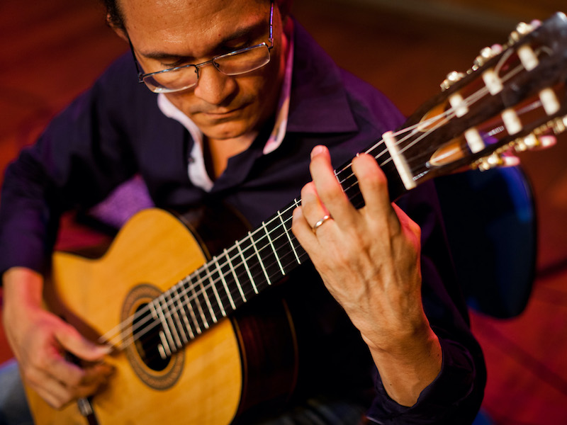 Começa o ciclo pedagógico do IV Festival de Violão de Teresina - Emanuel Nunes