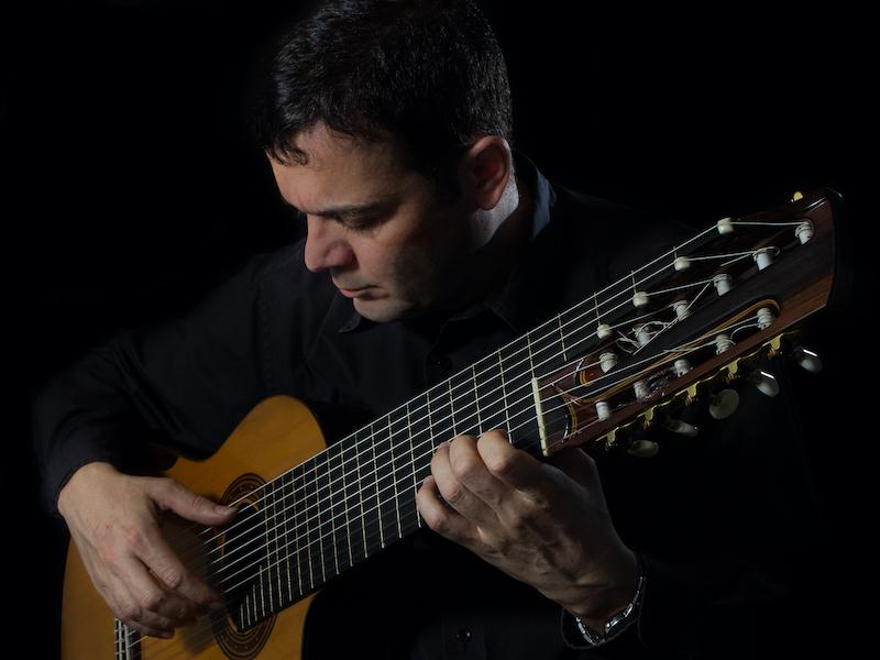 Começa o ciclo pedagógico do IV Festival de Violão de Teresina - Paulo Martelli