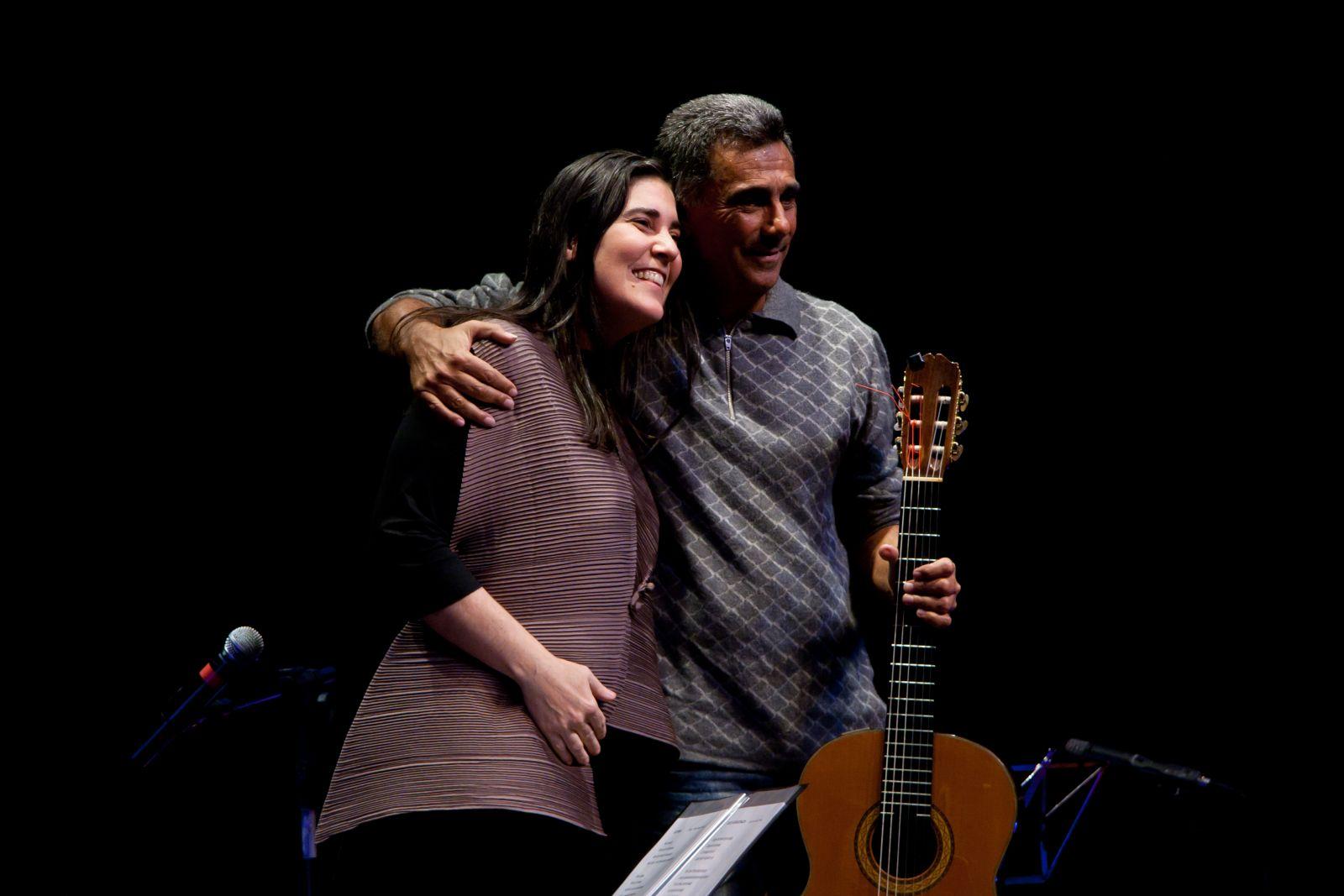 Festival em Teresina cresce com grandes recitais de violão em agosto - Mônica Salmaso e Guinga. Crédito: Thaís Gallart