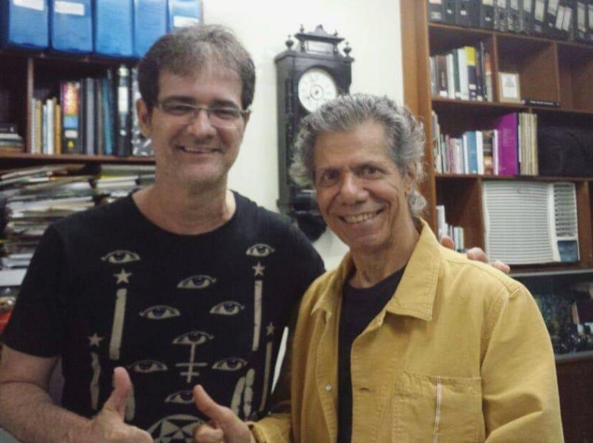Chick Corea no Recife e as notinhas mimosas do violonista Fred Andrade - foto: Fred Andrade e Chick Corea