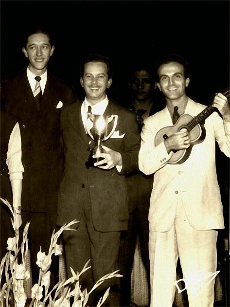 Documentos raros sobre Garoto e história da música Chora Fafá são revelados pelo Acervo do Violão - Trio Surdina (Chiquinho do Acordeon, Garoto e Fafá Lemos)