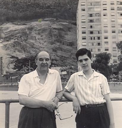Isaías Savio: mestre encantador e apaixonado por violão, por Gisela Nogueira - Isaías Savio e Sérgio Abreu, Rio, 1963