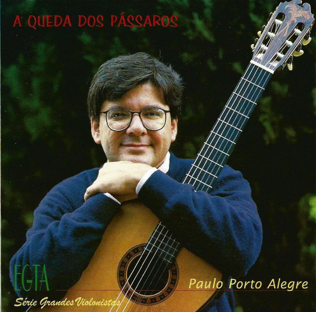 Espero que a morte de Isaías Sávio não seja duradoura, por Paulo Porto Alegre - Paulo Porto Alegre capa CD A Queda dos Pássaros