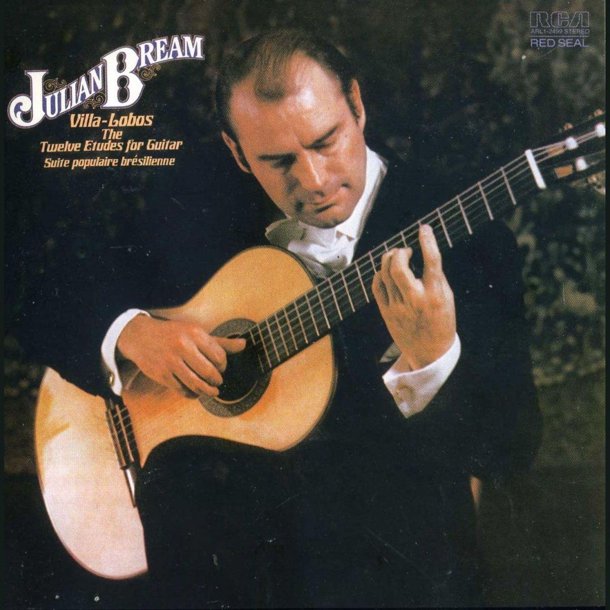 A brilhante trajetória biográfica e artística de Julian Bream