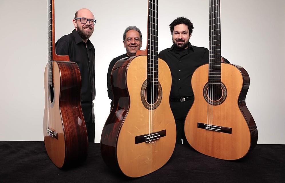 Mostra de Cordas Dedilhadas traz dezenas de recitais inéditos online neste domingo (23) - (Trio Elipsoidal - crédito: Gal Oppido)