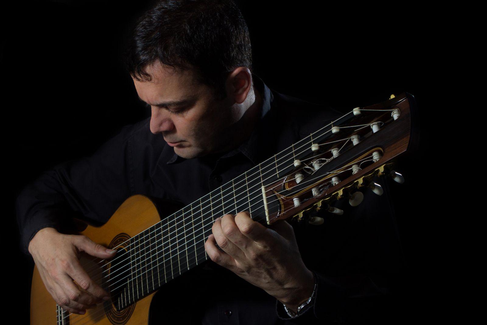 Festival em Teresina cresce com grandes recitais de violão em agosto - Paulo Martelli. Crédito: Lucas Tannuri