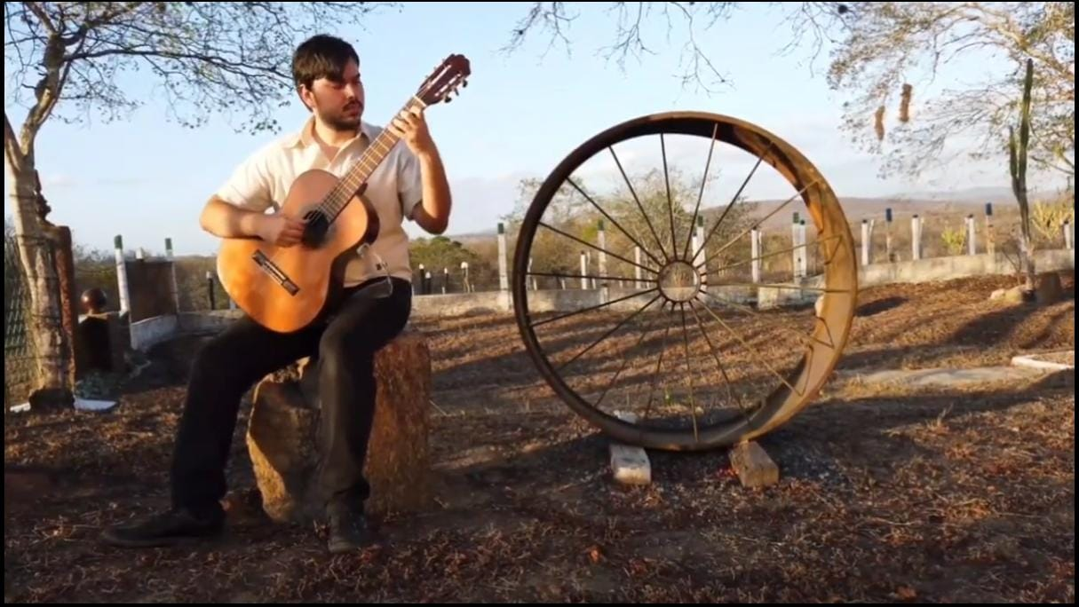 Documentário sobre o violão na Paraíba tem estreia e live com debates nesta sexta (12/02) - foto Arthur Nascimento