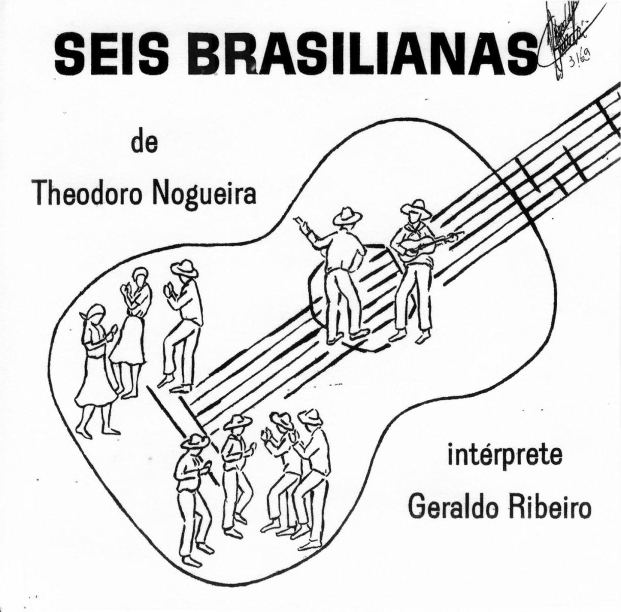 Violão e Mestres: história e sonho de uma revista - capa LP Geraldo Ribeiro Seis Brasilianas de Theodoro Nogueira
