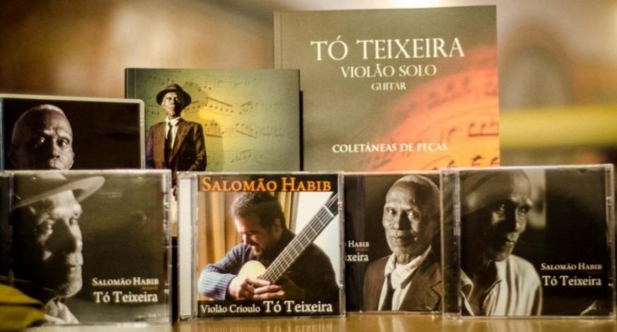 Em carta, violonista Tó Teixeira revela experiência de ser o único negro numa festa de São João em 1925 - foto crédito Sette Câmara