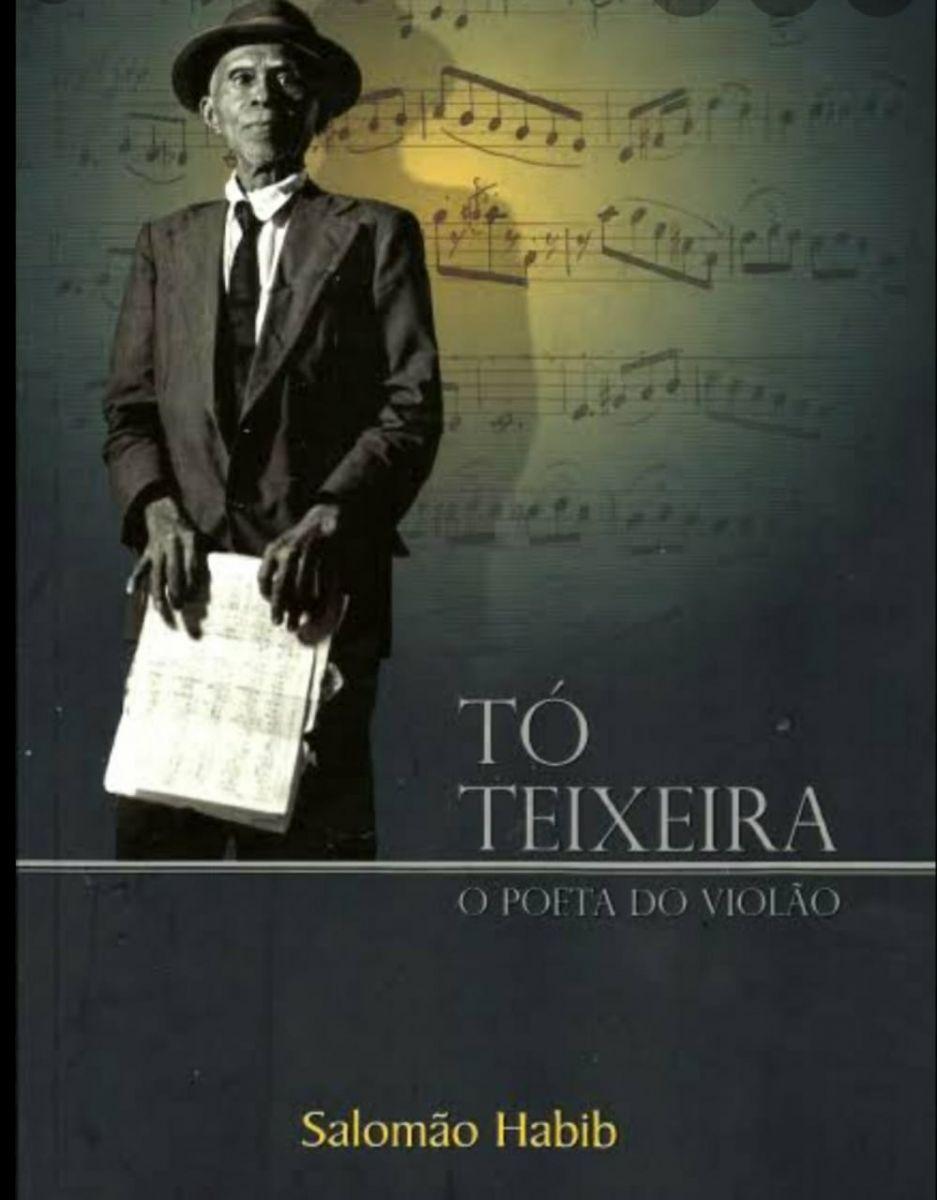 Primeiro violonista negro a realizar concerto no Pará tem obra resgatada em livros e discos - Tó Teixeira - capa biografia Salomão Habib