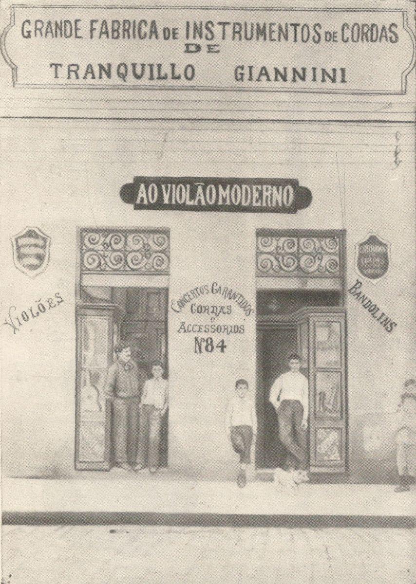 Violão e Mestres: história e sonho de uma revista - fábrica Giannini