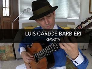 Capa do vídeo Luís Carlos Barbieri - Gavota (José Augusto de Freitas)