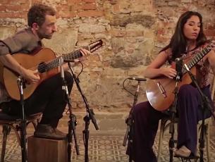 Capa do vídeo Elodie Bouny e Marcello Gonçalves - Elétrica (Ernesto Nazareth)