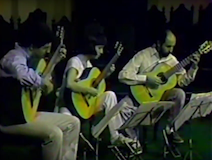 Capa do vídeo E. Capelupi, C. Azuma e P. Bellinati - Sarau para Radamés (P. da Viola)