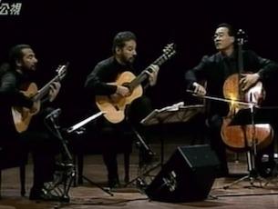 Capa do vídeo Duo Assad e Yo-yo Ma - A Lenda do Cabloco (Villa-Lobos)