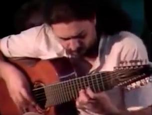 Capa do vídeo Egberto Gismonti - Cego Aderaldo / De Repente (Egberto Gismonti)