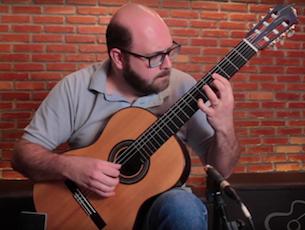 Capa do vídeo Alberto Guedes - Choro Fino (Laurindo Almeida)