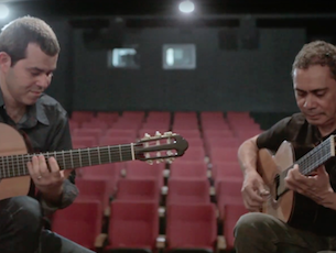 Capa do vídeo Carlos Walter e Sílvio Carlos - Bachianinha N. 1 (P. Nogueira)