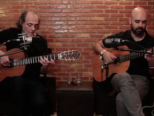 Capa do vídeo Eduardo Gudin e Mau Sant'Anna - Violão de Madeira (Gudin/Nogueira/P. César Pinheiro)