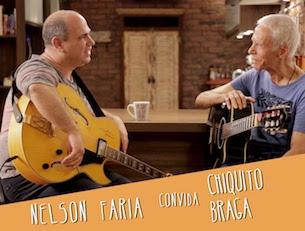 Capa do vídeo Chiquito Braga e Nelson Faria - Programa Um Café Lá em Casa