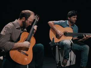 Capa do vídeo Duo Rafael Thomaz e Guilherme Lamas - Idas e Vindas (G. Lamas)